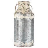 Rustic Metal Milk Can